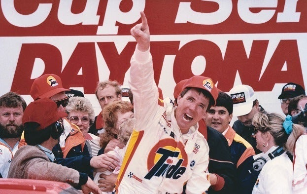 Darrell Waltrip 1989 NASCAR Daytona 500 ISC Archives via Getty Images