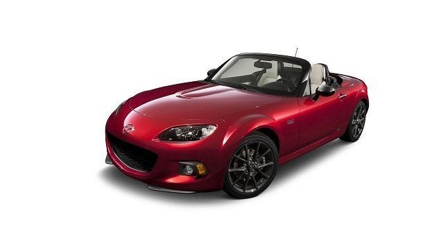 2015 Mazda MX-5 Miata 25th Anniversary
