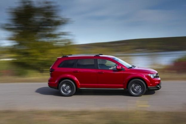 2014 Dodge Journey driving