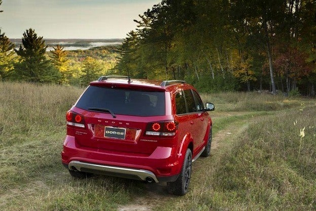 2014 Dodge Journey rear