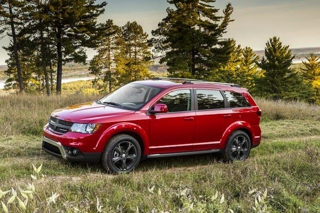 2014 Dodge Journey side