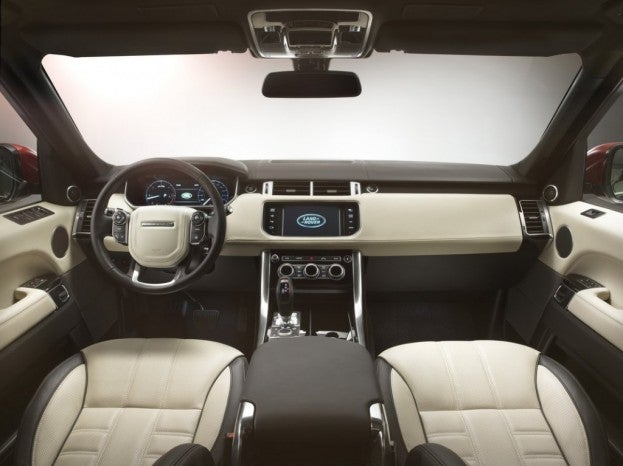 Range Rover Evoque cabin