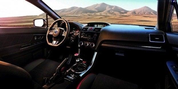 2015 Subaru WRX STI Cabin