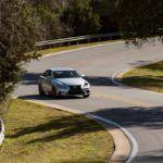 2014 Lexus IS350 F Sport twisting road