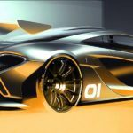 McLaren P1 GTR Concept Revealed Ahead of Schedule