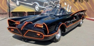 Batmobile 201 1966 car