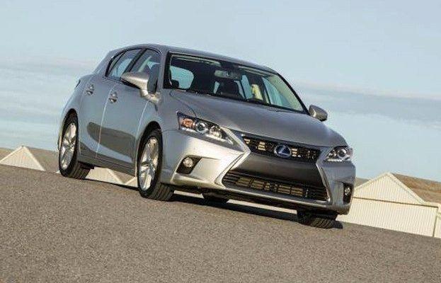 2014 Lexus CT200 front