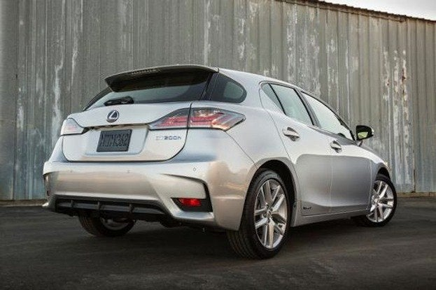 2014 Lexus CT200 rear