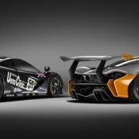 McLaren GTR pair rear