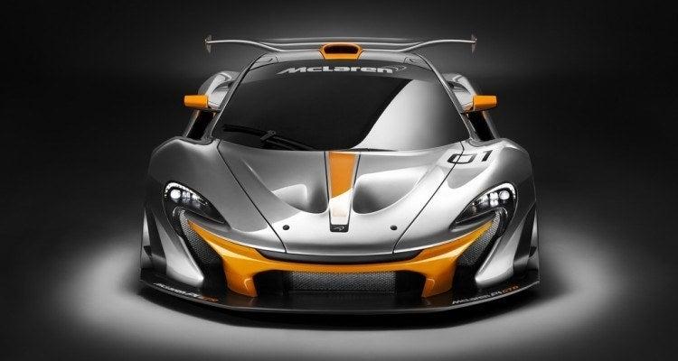 McLaren P1 GTR front