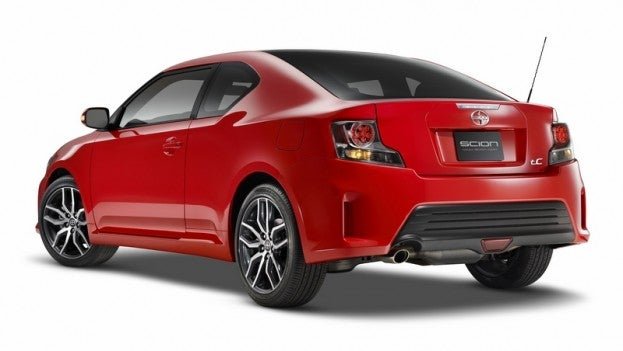 2014 Scion tC rear