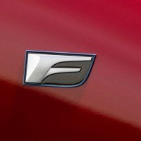 Lexus IS F badge