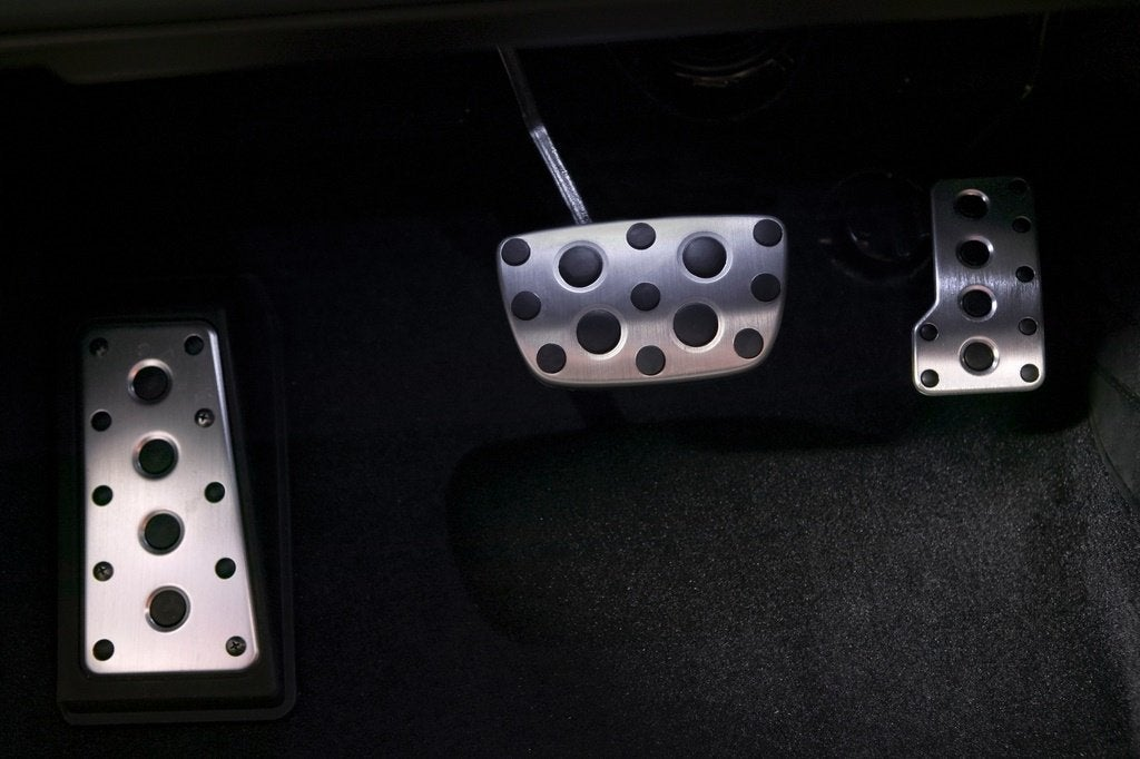 Lexus IS F pedals