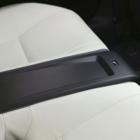 Lexus IS F rear seats