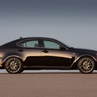 Lexus IS F side