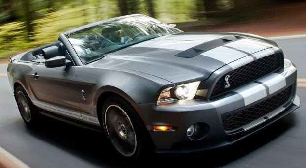 2014 Ford Mustang Shelby GT 500 Convertible