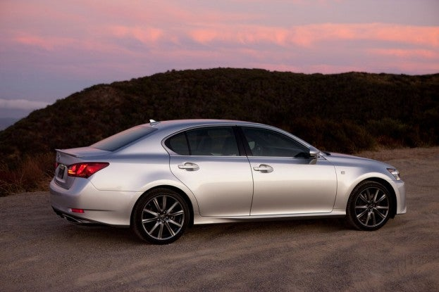 2014 lexus gs350 f sport awd review. Black Bedroom Furniture Sets. Home Design Ideas