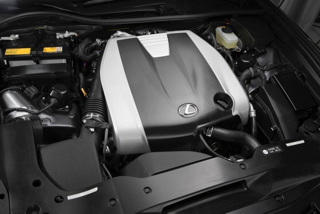 2014 Lexus GS350 F Sport engine