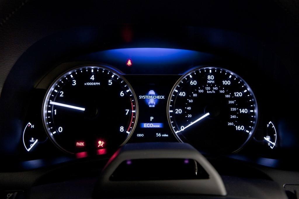 2014 Lexus GS350 F Sport instrument panel
