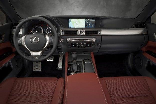2014 Lexus GS350 F-Sport interior