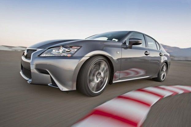 2014 Lexus GS350 F-Sport track