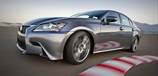 2014 Lexus GS350 F Sport track1