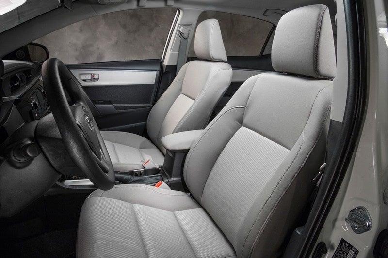 2014 Toyota Corolla LE ECO front seats