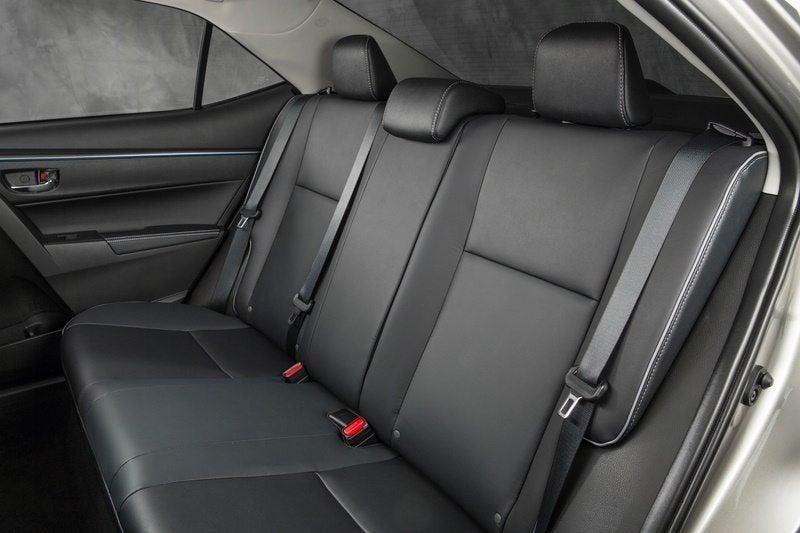 2014 Toyota Corolla LE ECO rear seats