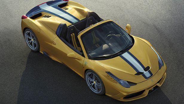 Ferrari Announces the 458 Speciale A  25