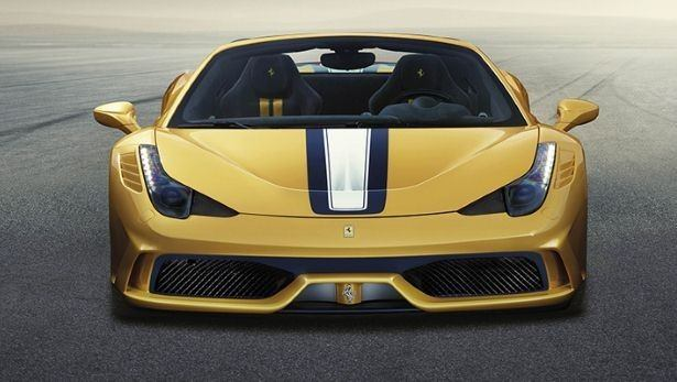 Behold the Ferrari 458 Speciale A