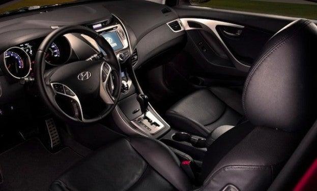 2014 Hyundai Elantra Coupe cabin