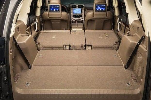 2014 Lexus GX460 cargo