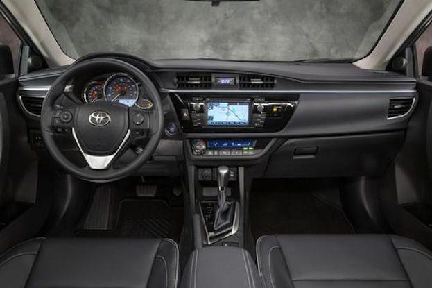 2014 Toyota Corolla LE ECO cabin