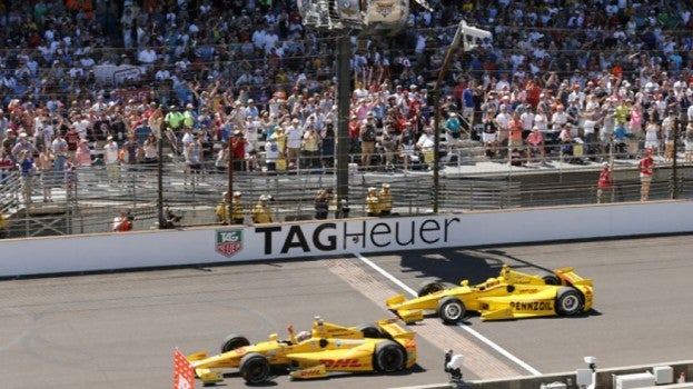 Ryan Hunter-Reay wins 2014 Indy 500