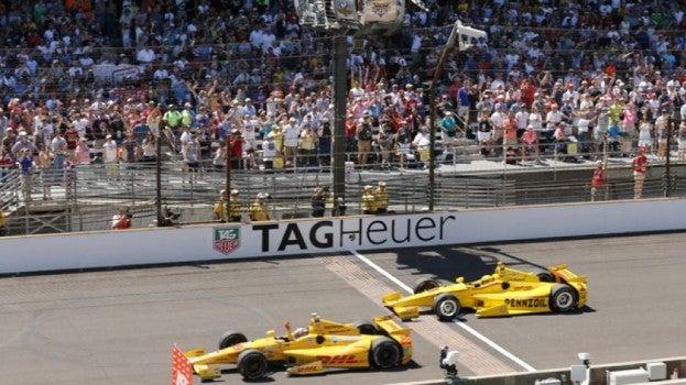 Ryan Hunter-Reay wins 2014 Indy 500