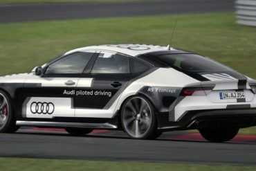 Audi RS7 Driverless Car Concept