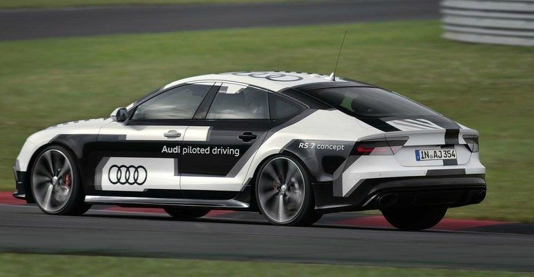 Audi RS7 Driverless Car Concept