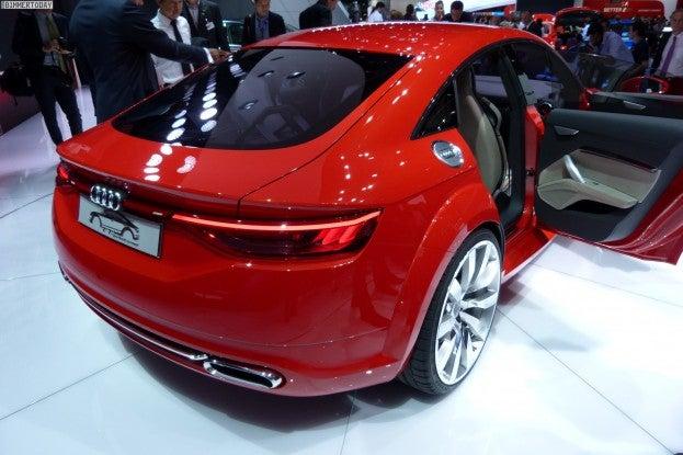 Audi TT Sportback rear