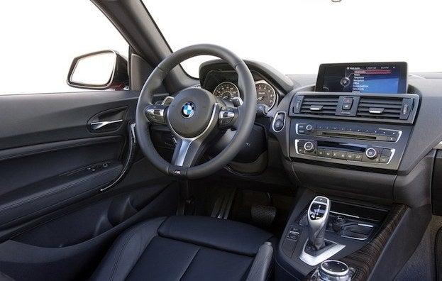 2014 BMW M235i cabin