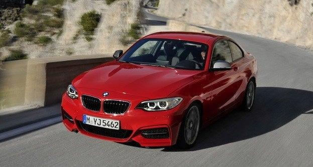 2014 BMW M235i front
