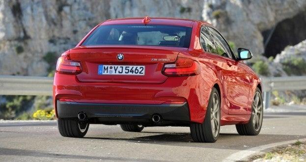 2014 BMW M235i rear