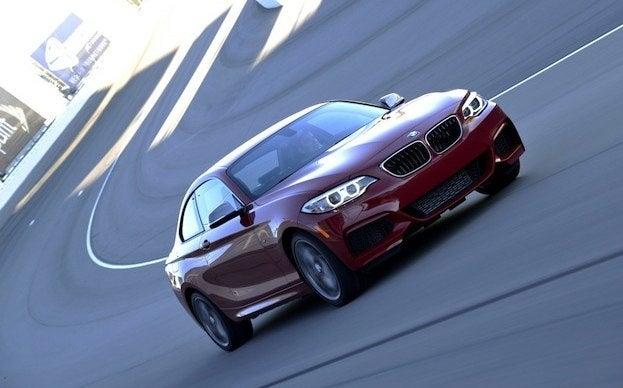 2014 BMW M235i track