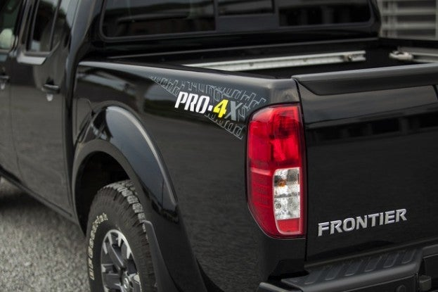2015 Nissan Frontier PRO4-X rear