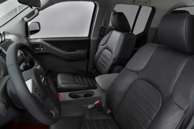 2015 Nissan Frontier PRO4X cabin