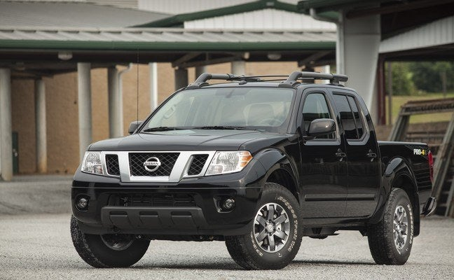 2015 Nissan Frontier PRO-4X Review