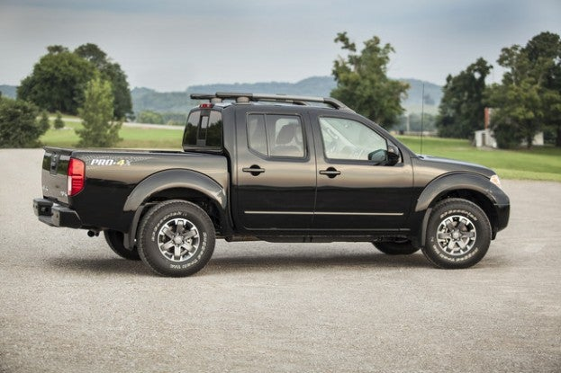 2015 Nissan Frontier PRO4X side