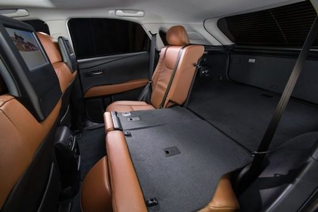 2015 Lexus RX350 seats