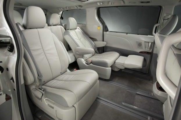 2014 Toyota Sienna cabin