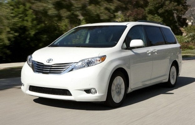 2014 toyota sienna limited 3 5l awd review. Black Bedroom Furniture Sets. Home Design Ideas