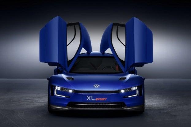 VW XL Sport Concept front dark